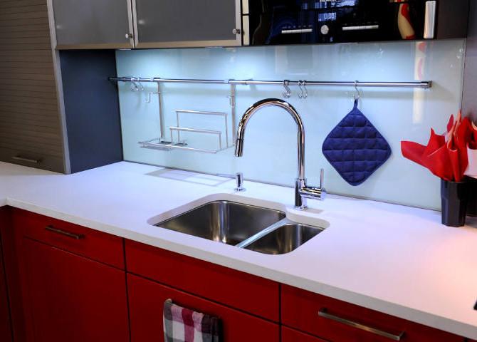 Küchenarbeitsplatte Silestone Blanco Zeus