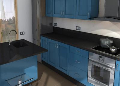 Arden blue Küchenarbeitsplatten