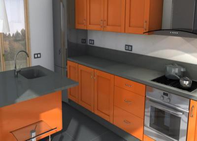 Cemento spa Küchenarbeitsplatten