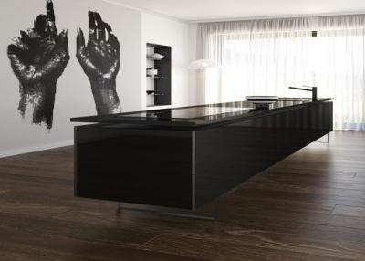 Iconic black Küchenarbeitsplatten