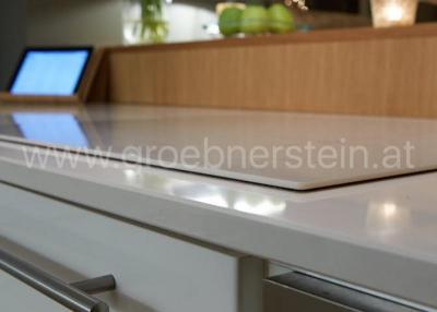 Iconic white Küchenarbeitsplatten