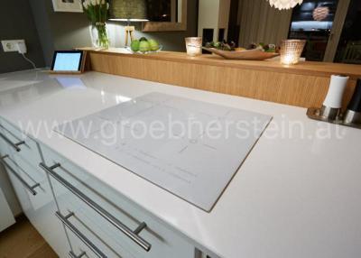 Ionic white Küchenarbeitsplatten