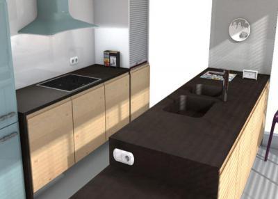 Keranium Küchenarbeitsplatten