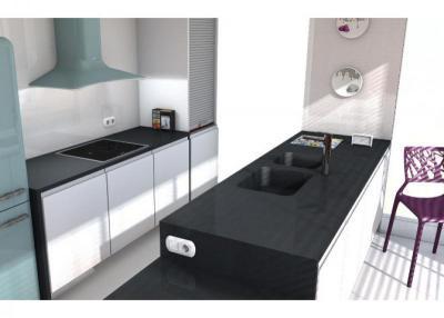 Negro anubis Küchenarbeitsplatten