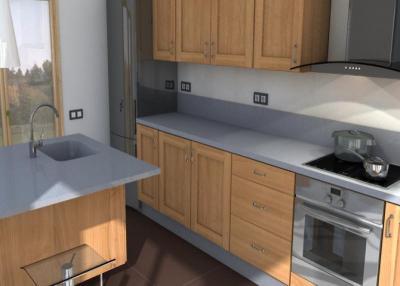 Steel Küchenarbeitsplatten