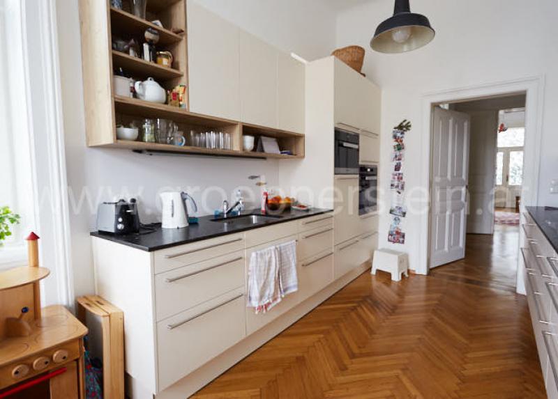Naturstein Küchenarbeitsplatte Coffee Brown