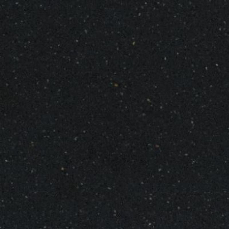 Silestone Küchenarbeitsplatte Negro Tebas
