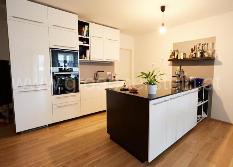Naturstein Küchenarbeitsplatte Nero Assoluto