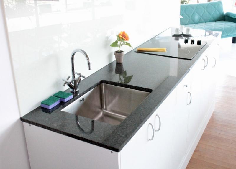 Naturstein Küchenarbeitsplatte Steel Grey