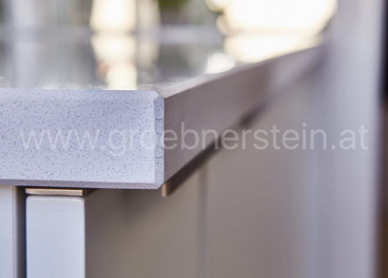 Silestone Küchenarbeitsplatte White Storm