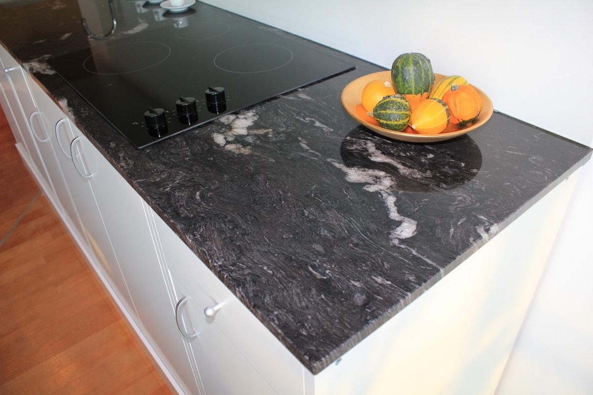 Paradiso Silver Küchenarbeitsplatte