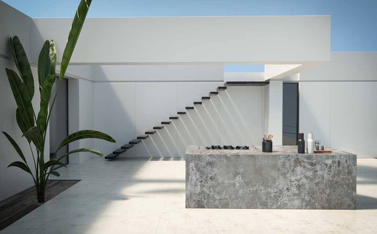 Beliebt günstige Küchenarbeitsplatten aus Granit, Silestone, Dekton :: Gröbner JF13